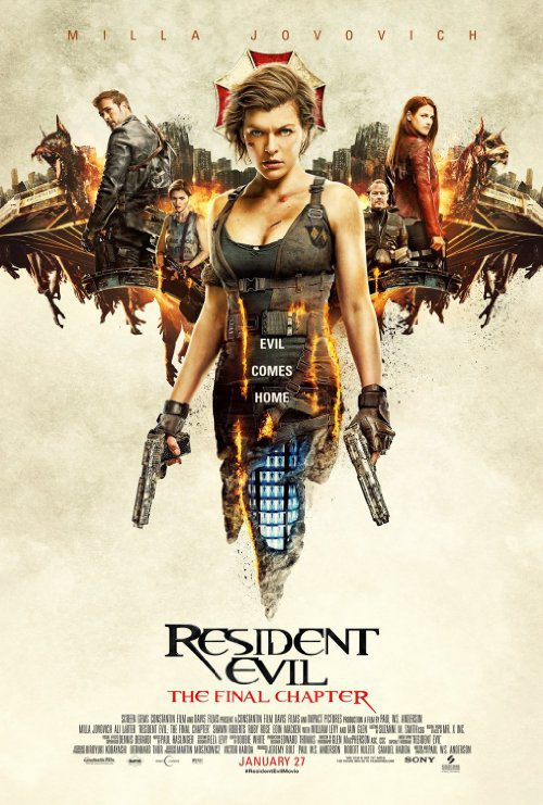 Resident Evil: The Final Chapter (2016) Movie Reviews