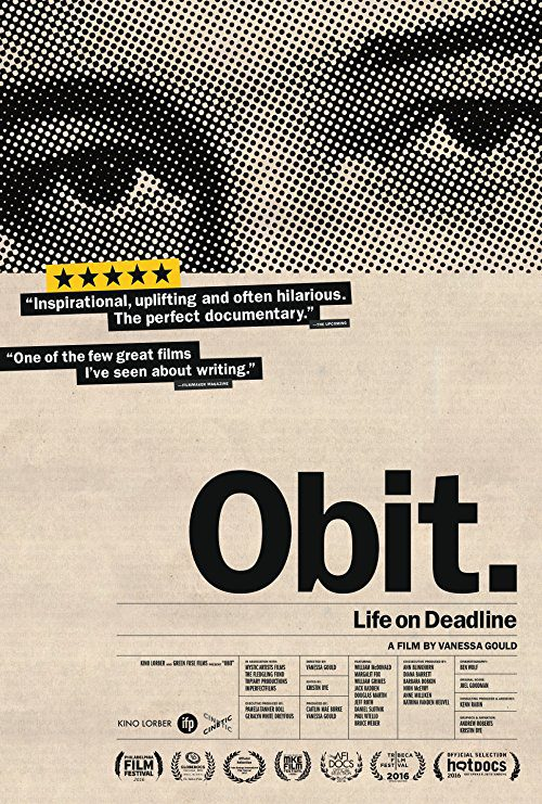 Obit. (2016) Movie Reviews