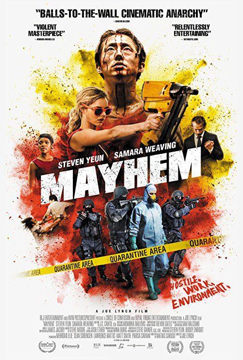 Mayhem (2017) Movie Reviews